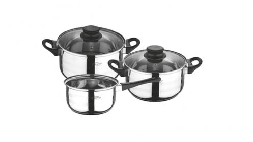 Bater a de cocina 5 piezas san ignacio descuento 58 for Bateria cocina profesional