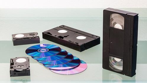 Pasa tus cintas VHS a DVD