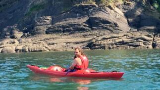 Ruta guiada en kayak desde Armintza