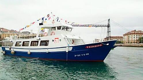 Paseo en barco guiado por la Ría de Bilbao
