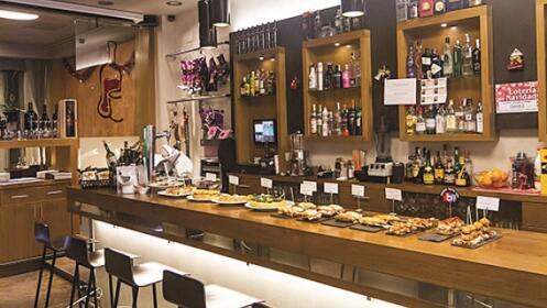 Exquisito menú en Bilbao