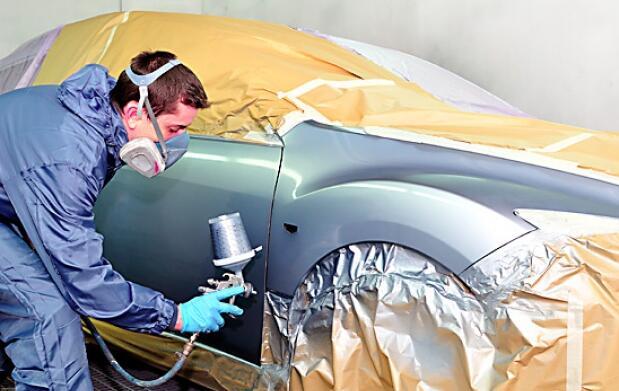 Reparación y pintura de golpes