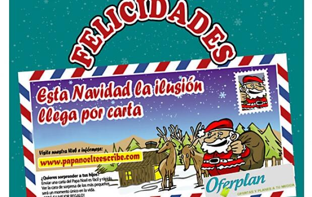 Regala carta del Olentzero, Reyes Magos...
