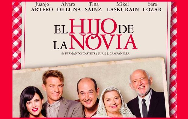 El hijo de la novia, Teatro Campos