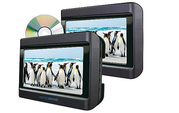 Dvd doble pantalla para coche