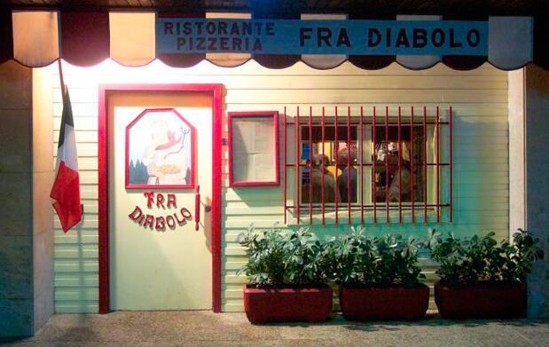 Barra libre de comida italiana para 2