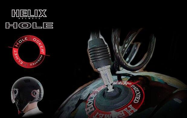Casco de moto Helix Hole Locker