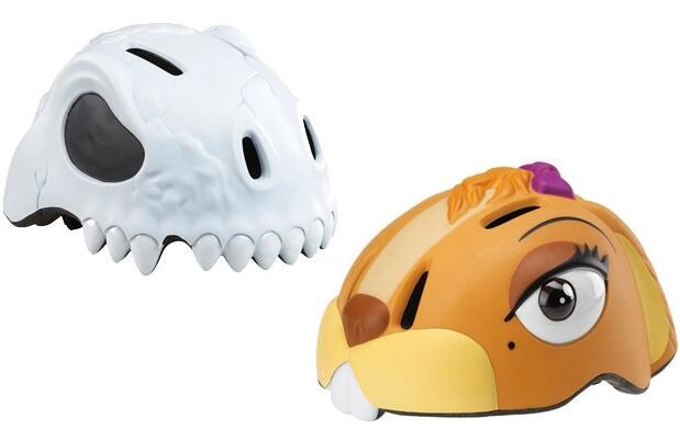 Casco bici infantil de animales en 3D