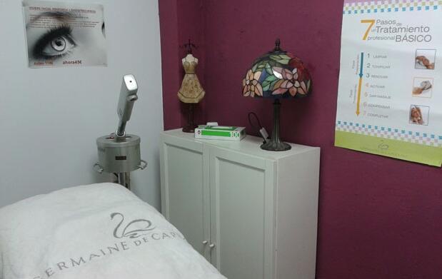Tratamiento de electroterapia facial