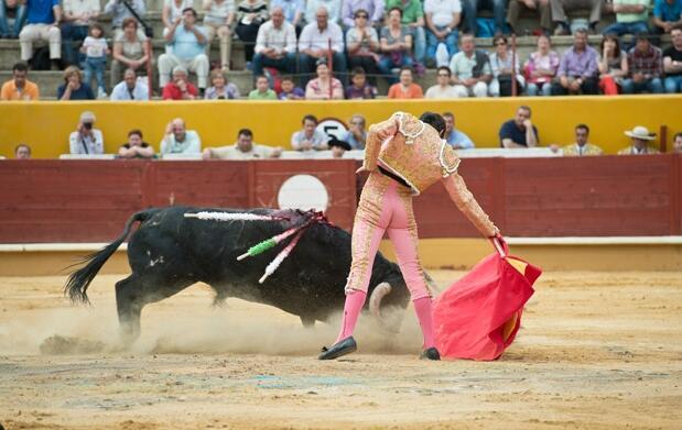 Entrada a los toros el 8 de agosto