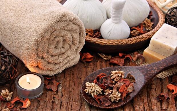 1 hora de masaje herbal anti estrés