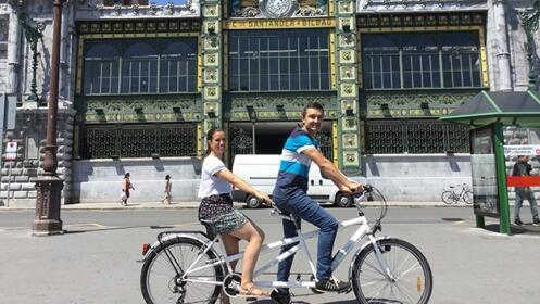 Alquiler de bicicleta en Bilbao con Urban Bike