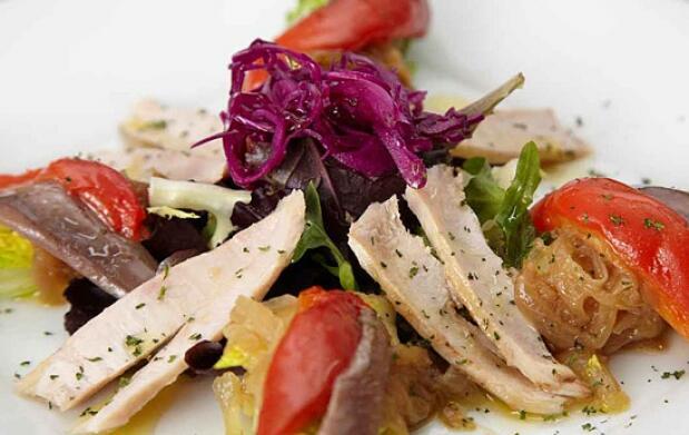 Exquisito menú degustación en Palacio