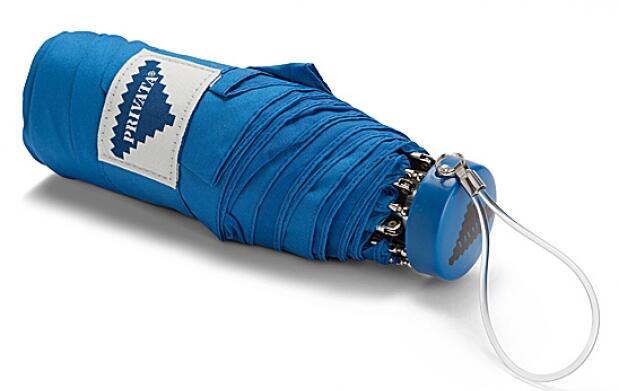 Paraguas plegable Privata azul