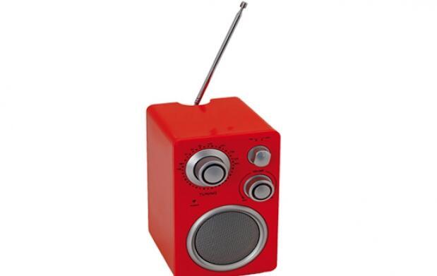Mini Radio de diseño con entrada Mp3