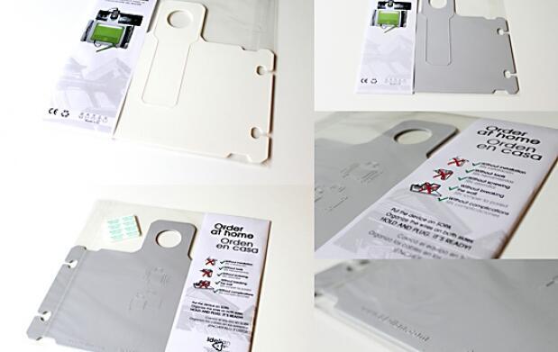 Soporte doméstico para colocar el router