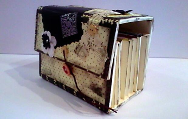 Curso de Scrapbook: caja especial