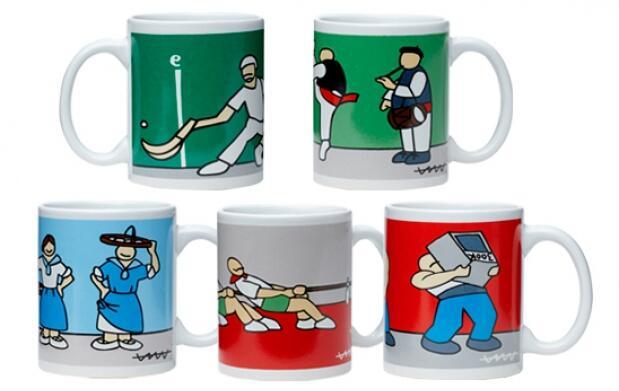 Tazas mug diseñadas por Cállate la Boca