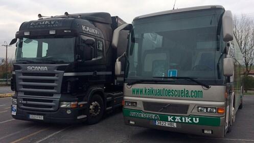 Carné de camión, trailer o autobús