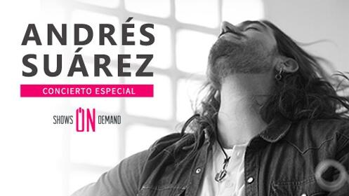 Andrés Suarez en acústico llega en concierto a Bilbao