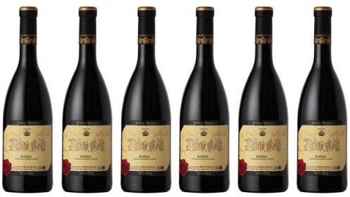 Pack de 6 botellas D.O.C Rioja Monte Real Tinto Reserva