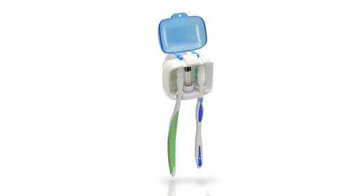 Esterilizador de cepillos de dientes UV