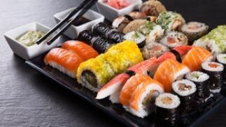 Menú sushi en Bilbao