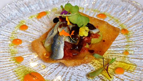 Menú de lujo en Restaurante Akebaso