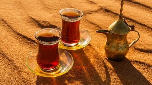 Menú árabe de 7 platos en el restaurante Arabe del Norte