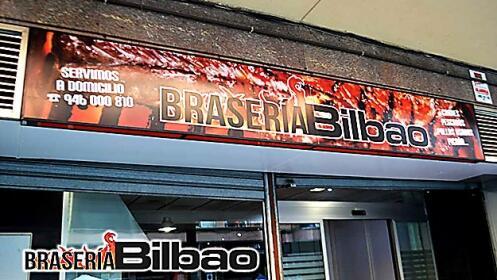 Menú para llevar en Brasería Bilbao
