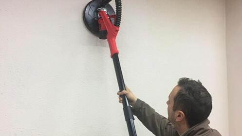Lijadora eléctrica de paredes y techos