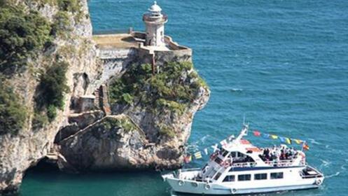 Conoce el Faro del Caballo desde el mar + fabrica de anchoas+ paseo turístico en barco