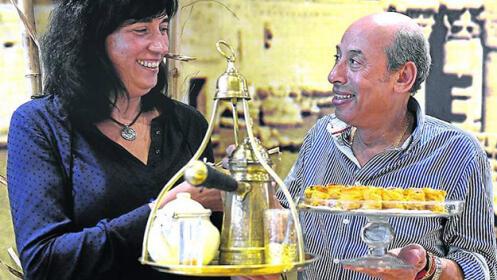 Delicioso menú egipcio de 6 platos en Bilbao