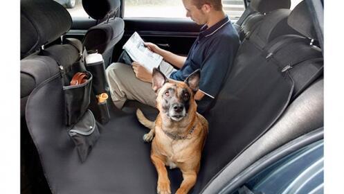 Funda protectora de coche para perros