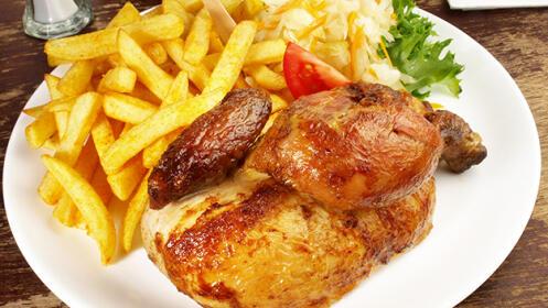 Menú de pollo para  2 o 4 personas en Basauri