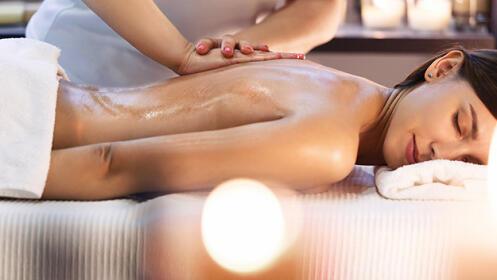 ¡Como nuev@! Peeling corporal + masaje corporal combinado, para 1 o en pareja
