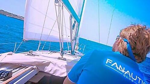 Experiencia en velero en la bahía de Santander