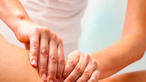 1 o 3 sesiones de fisioterapia (exclusivamente manual)