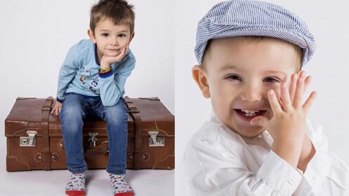 Sesión de fotos infantil en Bilbao