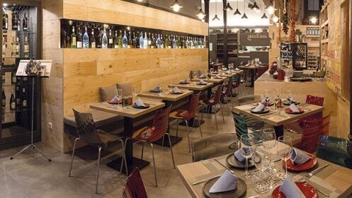 Exquisito menú griego en Restaurante Grecocina