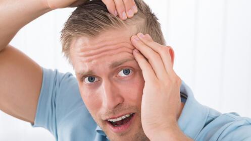 Tratamiento anticaída unisex o corte de pelo caballero