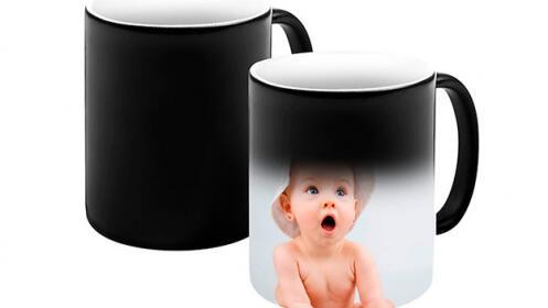 Taza personalizada de cerámica