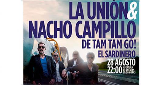 Entradas para La Unión & Nacho Campillo. Conciertos Solidarios Festival de las Naciones
