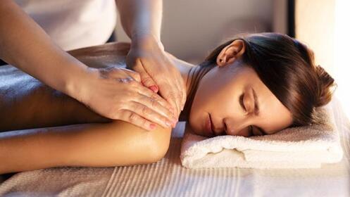 Masaje relajante + aromaterapia