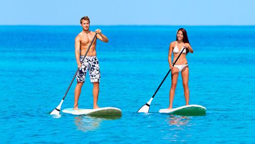 Paseo en Paddle Surf con monitor en Urdaibai