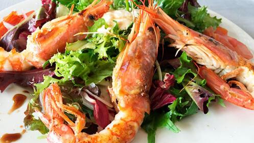 Exquisito menú en Basauri