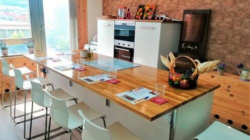 Taller de cocina saludable en Bilbao