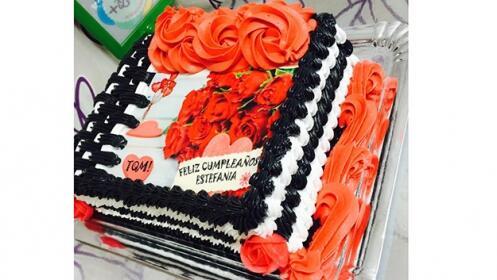 Tarta decorada y personalizada desde 15 raciones