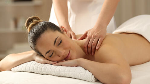 Exfoliación corporal completa y masaje