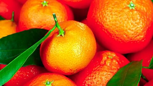 Caja de mandarinas y/o naranjas